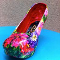 chaussure fleurie2