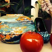 vase bassin2 et chaussure papillon